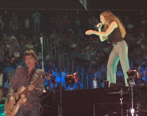 Pat Buchanan, Faith Hill, Atlanta, July 2006